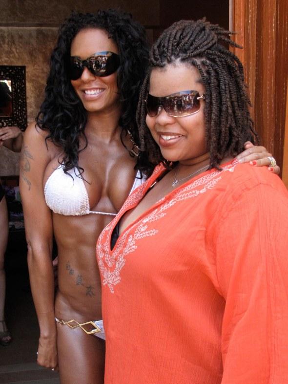 Mel B. hosts Hot Bodies at Tao Beach in Las Vegas