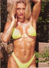 Vicky Pratt bodybuilding - protagonista in Mutant X