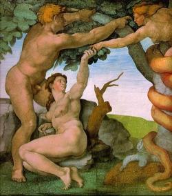 Le Donne Muscolose di Michelangelo