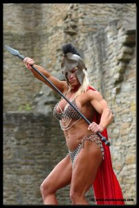 gladiatrice female bodybuilder