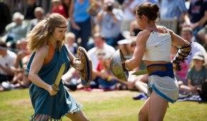 Female Gladiators reenactment