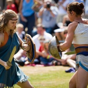 Female Gladiators reenactment