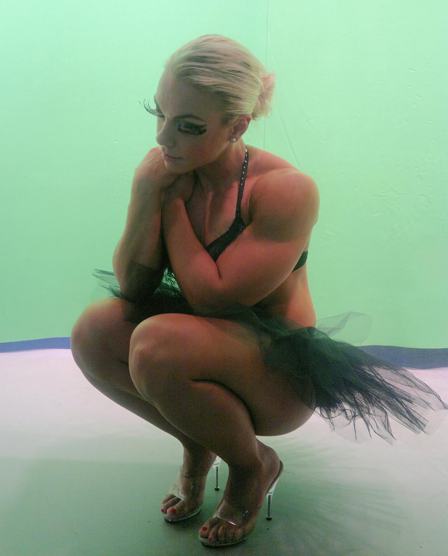 ballerina fitness muscolosa 2016