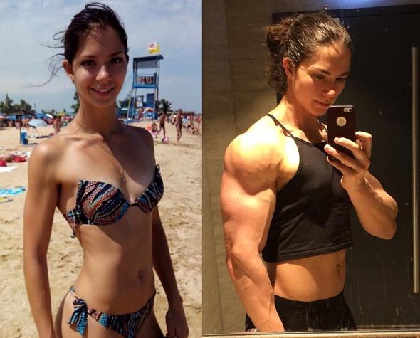 Ragazza Bodybuilder Russa 20 anni,