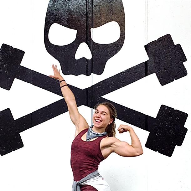 donna di bodybuilding dieta fitness