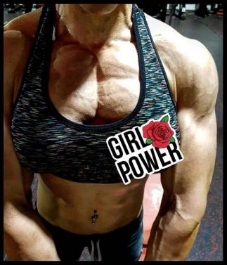 moda ragazza girl power Virginia fitness