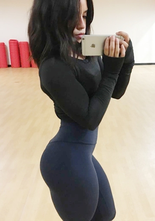 muscolosa is new sexy - ragaza teen fitness pump.