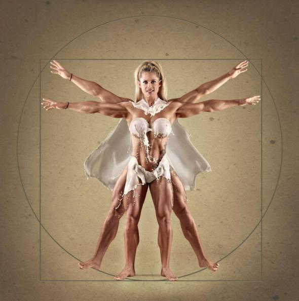 donna evolution muscolosa e palestrata