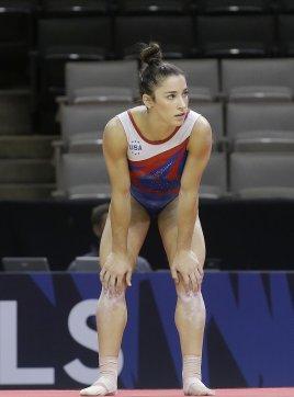 Alexandra Raisman muscoli scolpiti