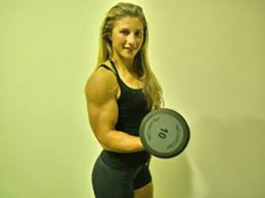 Lorena Manolica allenamento e body building